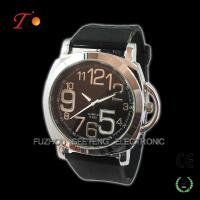Buy cheap Creative Leather Strap Quartz Wrist Watch for Man from wholesalers
