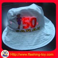 Quality Goog Quality Kids, Adult Cotton Flashing Hat, Caps HL-B5120 for sale