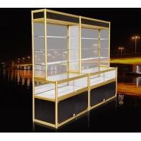 China High Titanium Alloy Pharmacy Display Cabinet / Metal Pharmacy Cabinet on sale