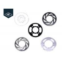 Buy cheap 37T / 41T / 46T / 56T Motorcycle Chains And Sprockets 420 428 520 high speed product