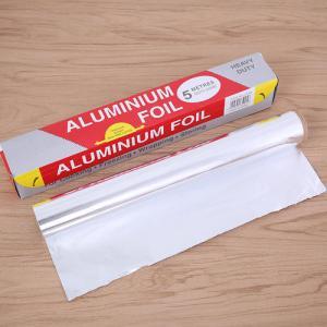 Buy cheap Freshness Retaining Kitchen Grill Aluminium Foil , Large Aluminum Foil For Takeout product