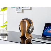 China Long Durability Headphone Stand Holder Polish Surface Processed Zebra Color on sale