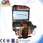 Cheap 2014 3D video gun shooting game machine, simulator gun shooting arcade game machine wholesale