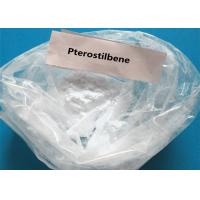 Buy cheap Natural Pharmaceutical Pterostilbene For Hypoglycemic CAS 537-42-8 product