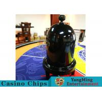 Quality Security Fair Casino Game Accessories Black Color Automatic / Manual Dice Cup for sale