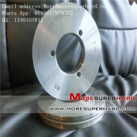 Quality metal bond Automobile glass diamond grinding wheel Mary@moresuperhard.com for sale