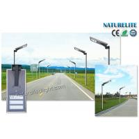 Buy cheap Outdoor 50W Solar Powered Street Lights Smart Dimmable Motion PIR Sensor All In One from wholesalers