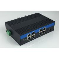 Buy cheap 8-Port 10/100/1000Base-Tx and 1-Port 1000Base-Fx Industrial Grade Fiber Switch with 8-Port POE product