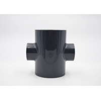 Buy cheap 315mm Size UPVC Reducing Cross PE100 Fittings Corrosion Resistant product
