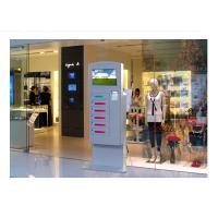 Buy cheap Video Advertising Automatical Smart Cell Phone Charging Kiosk Interactive Information product