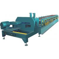 Buy cheap PLC Control C Purlin Roll Forming Machine / Z Purlin Machine With Hydraulic Cutter product