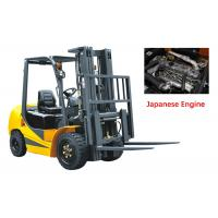 Buy cheap Mechanical Four Wheel Forklift Diesel Engine 7000kg Capacity Comfortable Design product
