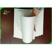 Buy cheap 100% Virgin Wood Pulp 300g  Ivory Board Paper For Book Cover from wholesalers