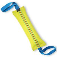 Buy cheap Handmade Dog Bite Tug Toy , Interactive Dog Toys With 2 Strong Handles product