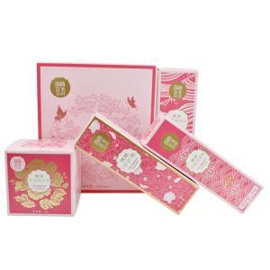 China Digitial Printing Perfume Sample Box Makeup Packaging Boxes Velvet EVA Insert on sale