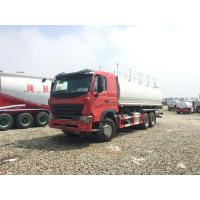 Buy cheap Manual Transmission Fuel Truck Trailer / 3 Axle Trailer 15001 - 30000L from wholesalers