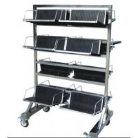Buy cheap Vertical SMT Magazine Rack , ML-8604 ESD PCB Trays Carts For PCB Storage from wholesalers