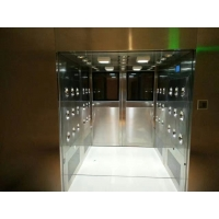Buy cheap Vertical Blowing Class 1000 Air Shower Tunnel / Channel For Electronic Factory product