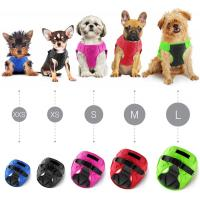 Buy cheap Easy Wear Dog Harness Leash , Soft Padded Interior Exterior Puppy Dog Harness product
