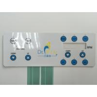 Buy cheap Flat surface Metal dome LED backlight 3M rear adhesive Membrane Switches product