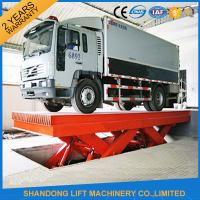 Buy cheap Durable Hydraulic Scissor Car Parking Lift , Vehicle Scissor Lift With CE product