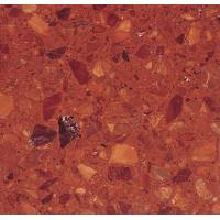 Buy cheap Dark Red Beautiful Artificial Stone product