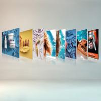 Buy cheap Free Standing Seg Photo Fabric Picture Frames Display For Exhibition Shopping Mall product