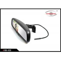 115 Degree Horizontal Angle Car Rearview Mirror Monitor With Dome Reading Lights