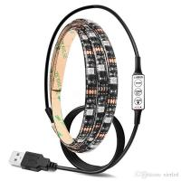 Buy cheap USB RGB/Warm/Cool White SMD 5050 LED Strip Light Waterproof String Lamp 2m/1m/0.5m product