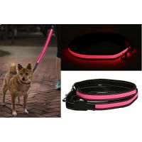 Buy cheap Comfort Grip Handle LED Pet Leash High Visibility Industrial Strength Materials from wholesalers