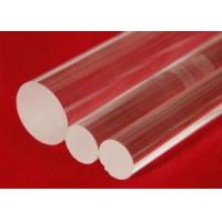 Buy cheap Custom Clear Fused Quartz Glass Light Guide Rod High Corrosion Resistance product
