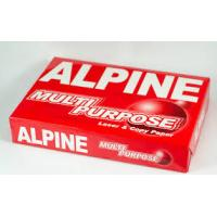 Buy cheap Alpine A4 Copy Paper 80gsm,75gsm,70gsm product