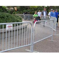 Buy cheap Crazy Crowd Control Barriers / Temporary Fence Panel Corrosion Resistence from wholesalers
