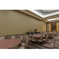 Buy cheap Banquet Hall Acoustic Operable Sliding Movable Partition Wall with double rollers from wholesalers