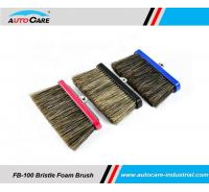 Buy cheap 100% Hogs Hair Car Wash Foam Brush with Aluminium head/  Soft Bristle Shampoo water through brush product
