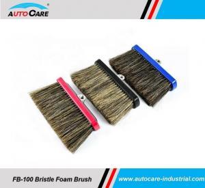 Buy cheap Soft 100% Natural Hog Hair Bristle Brush Set/ Car foam brushes product