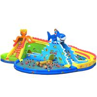 Buy cheap Giant Entertainment Inflatable Water Park /Water Game Equipment product