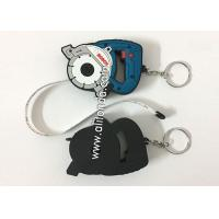 Buy cheap Tape measuring Mini with keychain promotional custom logo printing different color cute funny tapeline product