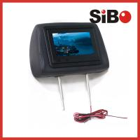 Buy cheap Taxi Back Seat Advertising Headrest Monitor with 3G / WIFI / Body Sensor product