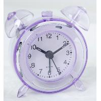 China ET206 crystal table clock of twin bell clock on sale