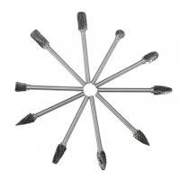 Buy cheap 1/8 Inch Shank Tungsten Carbide Bur Rotary Drill Bits Cutter Files Set product
