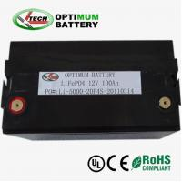 Buy cheap Deep Cycle LiFePO4 Battery Pack 12V-100Ah Solar Energy Storage Battery product