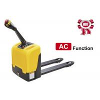 Buy cheap AC Function Walkie Electric Pallet Jack , Narrow Space Motorized Pallet Jack product