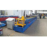 Buy cheap 75mm Automatic Roll Shutter Door Frame Forming Machine for 0.8-2.0mm with PLC Control product