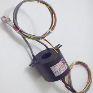 Buy cheap Radar System Inner Hole 38.1mm Gigabit Ethernet Slip Ring product