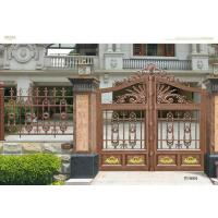 China Architectural Steel Cast Iron Gates / Customized Metal Fence Door on sale