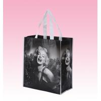 China custom black laminated non woven polypropylene bags polyester tote bags supplier on sale