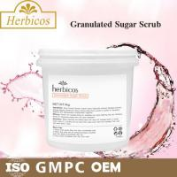 4KG Herbicos Granulated Sugar SPA Body Scrub Skin Care Face Cream for all skin