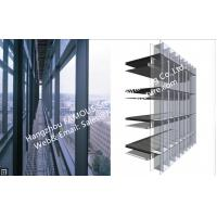 Quality Double Glass Wall Ventilated Façade Office Building with Double Skin Glazed for sale