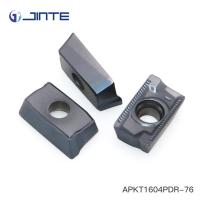 APKT1604PDR Carbide Milling Inserts TP722 Grade For Steel Machining